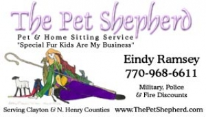 Pet Shepherd Pet Sitting - GA.