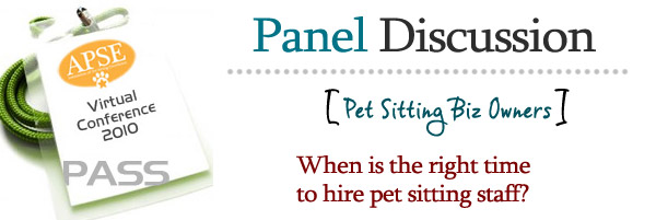When is the right time to hire pet sitting staff?