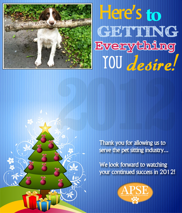 APSE holiday card