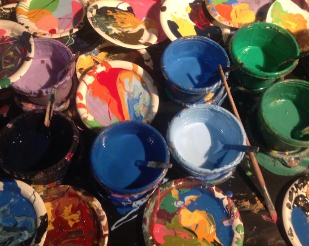 Color paint image