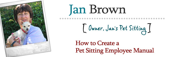 How to Create a Pet Sitting Employee Manual